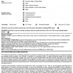 NSF Personal Info Form