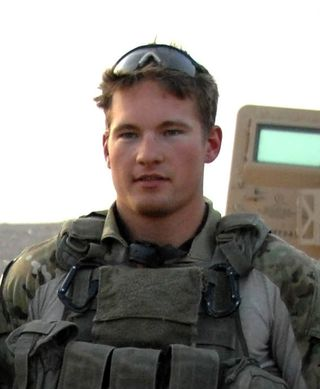 Army Ranger Benjamin Kopp, USASOC Photo