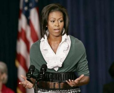 Michelle Obama bondage Belt