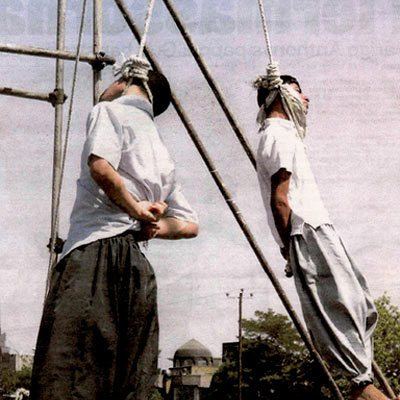 gay hanged iran teen