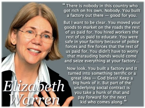Elizabeth Warren quotation
