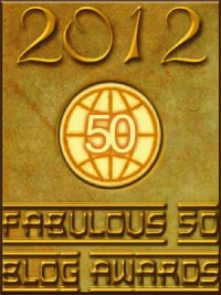 2012 Fabulous 50 blog awards
