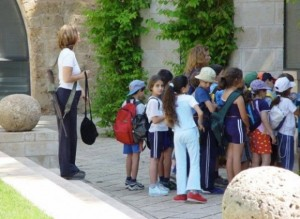 Armed guard at school in Israel