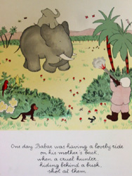 Babar's mother getting shot