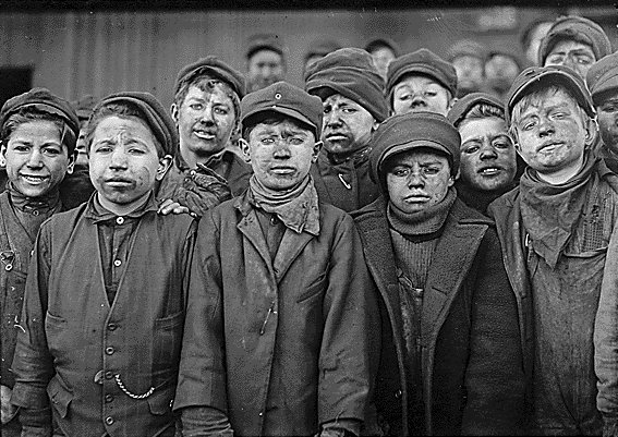 Child Labor minor miners