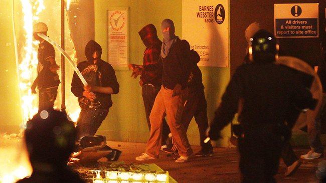 London OWS riots
