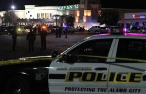 San Antonio police crime scene