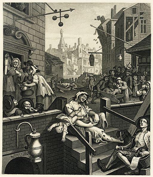 William Hogarth's Gin Lane