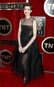 Anne Hathaway SAG awards 2013