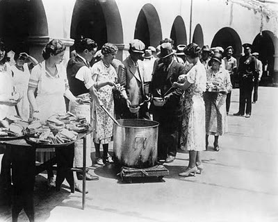Food shortages Great Depression