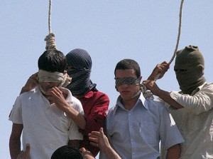 Gay teens hanged in Iran