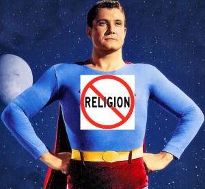 Atheist crime fighter