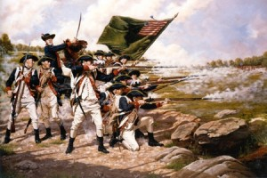 Revolutionary war battle