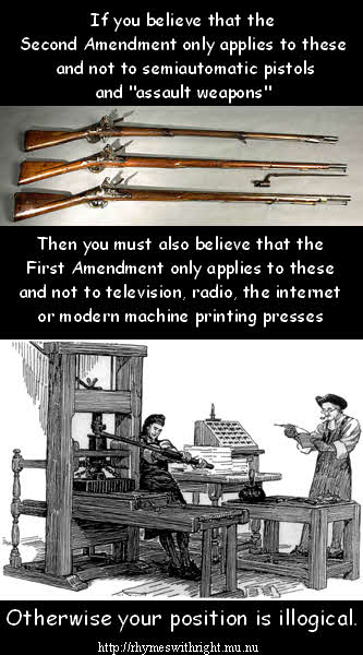 The First and Second amendments in context