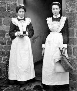Victorian house servants