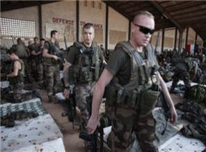 French troops headed to Mali