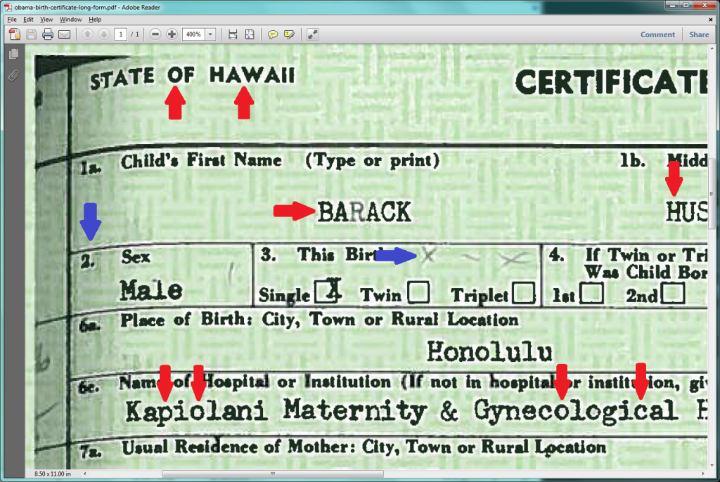 An Interesting Theory About Obamas Birth Certificate Bookworm Room
