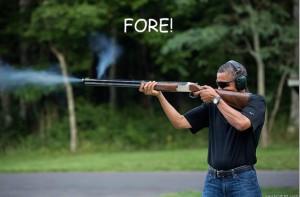 Obamas Got A Gun - fore