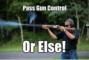 Obamas Got A Gun - pass gun control or else