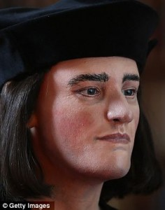Richard III's face