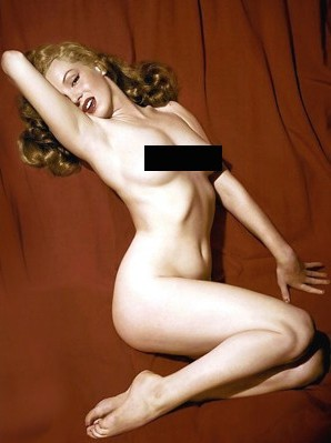 Marilyn Monroe Playboy picture