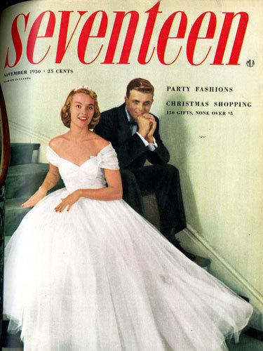 Seventeen Magazine cover 1950
