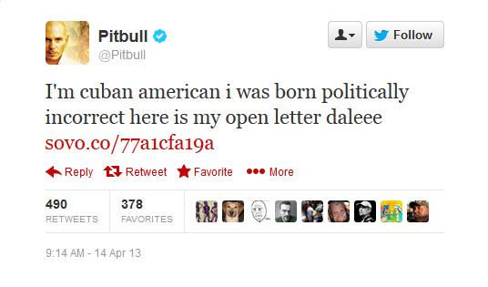 Twitter  Pitbull I'm cuban american i was born ... - Mozilla Firefox 4142013 81836 PM.bmp