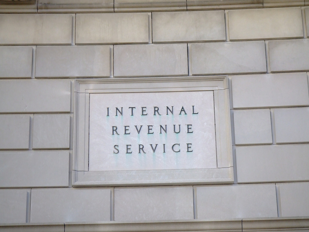 Internal Revenue Service IRS taxes tax bill