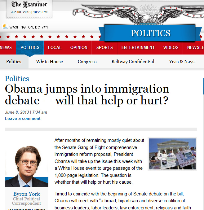 Obama jumps into immigration debate — will that help or hurt  WashingtonExaminer.com - Mozilla Firefox 682013 72916 PM.bmp