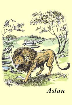 C.S. Lewis's Aslan, from the Narnia books.