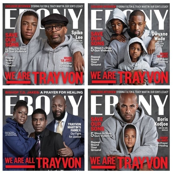 Ebony magazine covers
