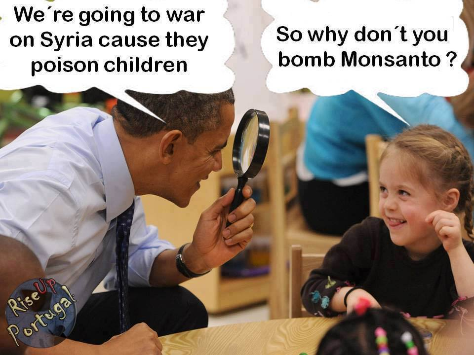 Obama should bomb Monsanto