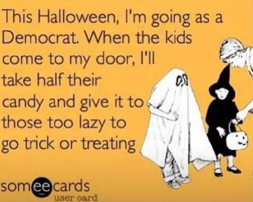 Democrat Halloween