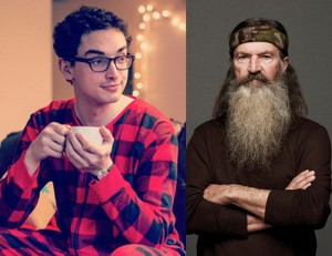 Phil Robertson and Pajama Boy