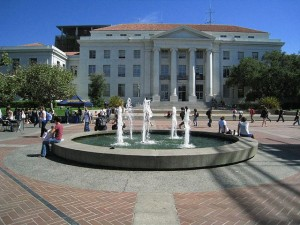 Sproul Hall, scene of numerous, unexecuted bomb threats