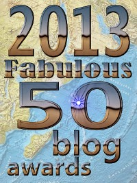 Fabulous 50 blog awards winner