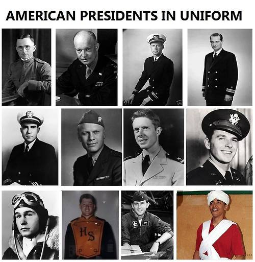 Our men in uniform