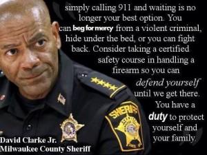 Police chief get a gun