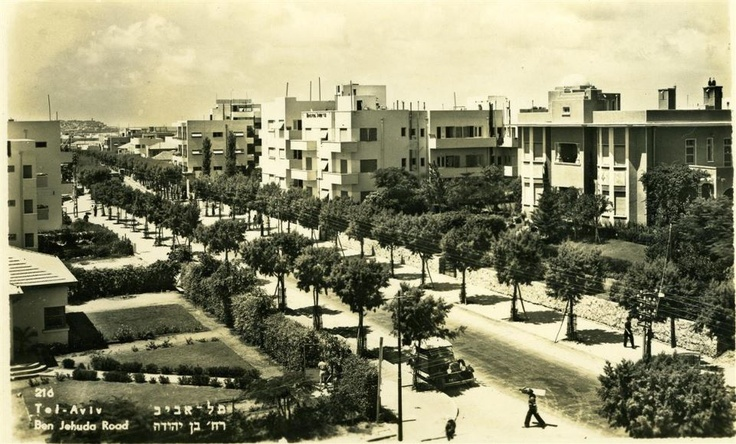 Ben Jehuda Road 1930