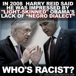 Harry Reid racism