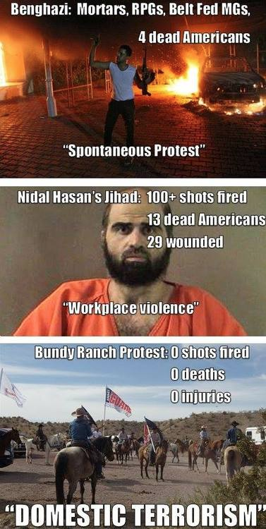 Perspective on the Bundy Ranch protest