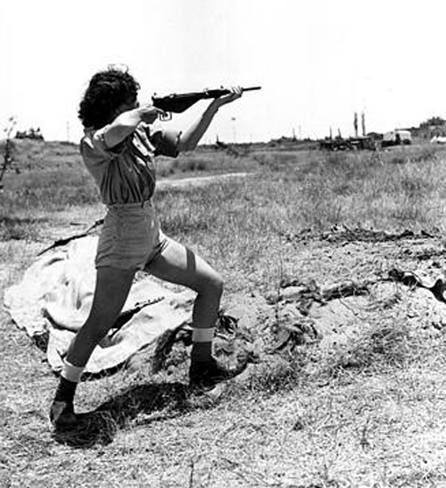 ARAB ISRAELI WAR 1948 WOMEN ARMY