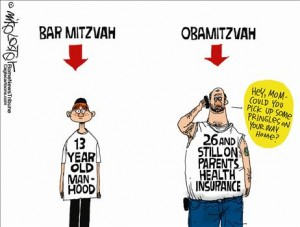 Bar Mitzvah cartoon
