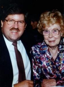Bernie Tiede and Marjorie Nugent