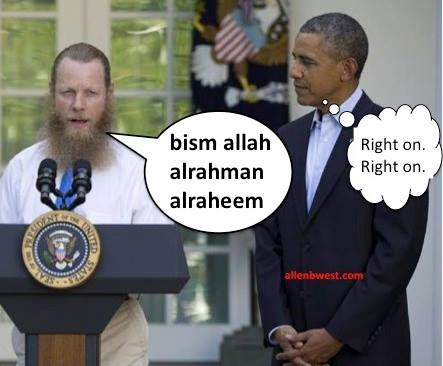 Bergdahl's Dad offers Muslim prayer