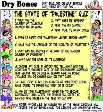 Dry Bones on the State of Palestine