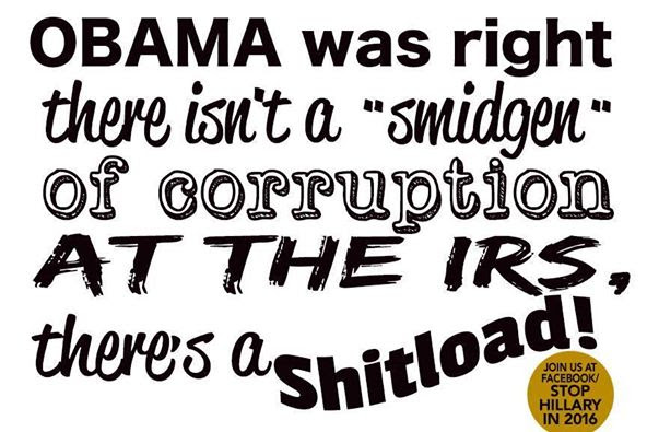 Shitload of IRS corruption