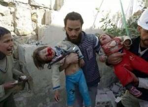 Dead in children in Gaza