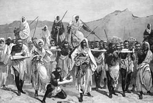 Muslim slave traders in Africa
