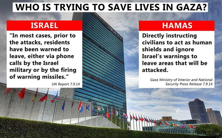 Who's saving lives in Gaza